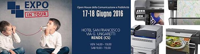 Sicilsat in Calabria all'Expo della Pubblicità in Tour