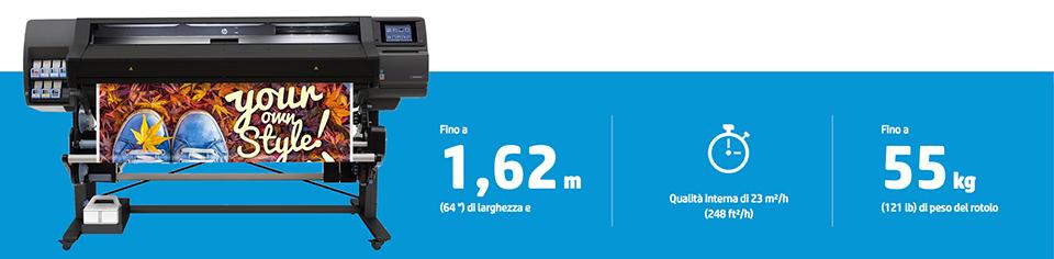 stampante latex hp 560