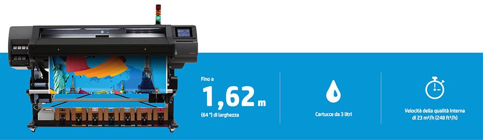 stampante latex hp 570