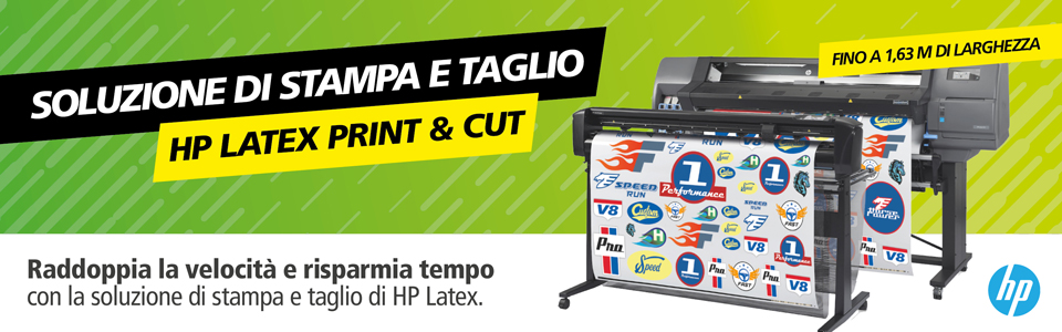 HP Latex Print & Cut