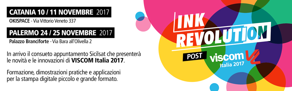 ink revolution post viscom catania sicilia